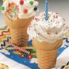 Cómo hacer cupcakes ¡en conos de helado!