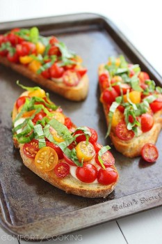 Cómo hacer bruschetta italiana, 4 recetas fáciles