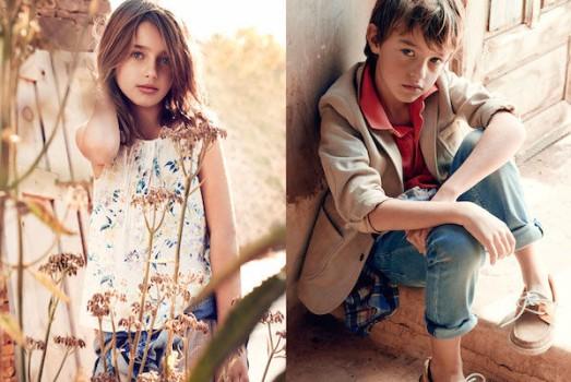 Massimo Dutti niños, primavera verano 2015