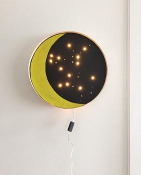 5 lámparas infantiles con guirnaldas de luces