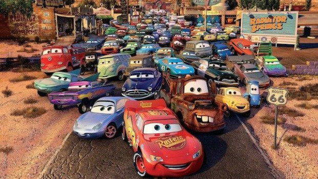 Recortables gratis ¡de Cars!