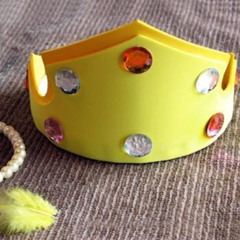 Coronas de goma eva. Cómo hacer coronas de princesas