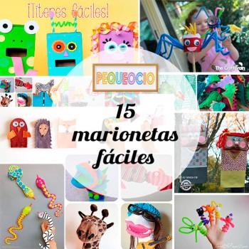 15 marionetas ¡fáciles y originales!