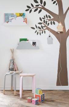 5 estanterías originales para niños