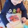Manualidades infantiles para jugar con plastilina