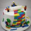 6 tartas de cumpleaños de Lego