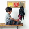 Cómo hacer percheros para niños