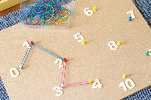 Manualidades infantiles para aprender a contar