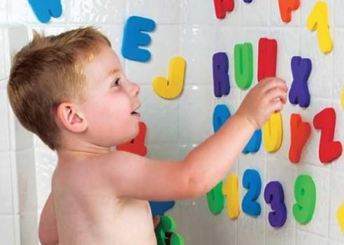 Juguetes educativos ¡para el baño!