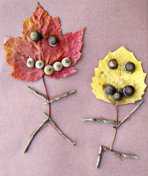 5 manualidades infantiles para recibir al otoño