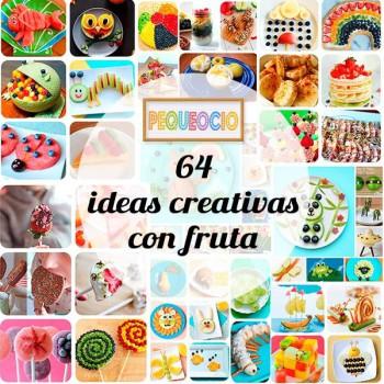 Recetas para niños: 64 ideas creativas con fruta