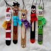 5 adornos de Navidad con palitos de helado