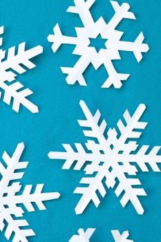 Copos de nieve, aprende a hacerlos de forma fácil