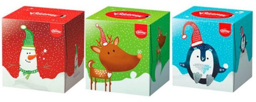 Manualidades de Navidad divertidas… ¡con Kleenex®!