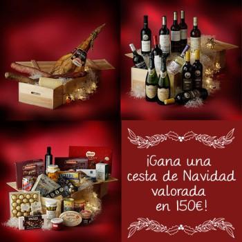 ¡Gana una cesta de Navidad valorada en 150 euros!