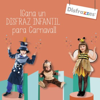 ¡Gana un disfraz infantil para Carnaval!