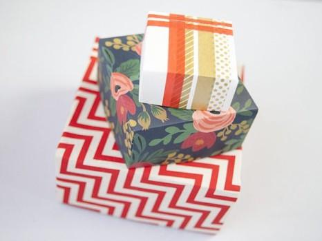 Cómo hacer una cajita de origami fácil