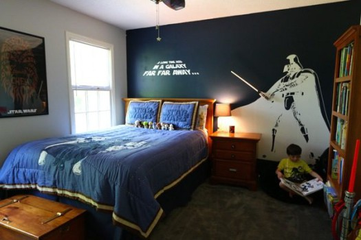 Habitaciones infantiles… ¡de Star Wars!