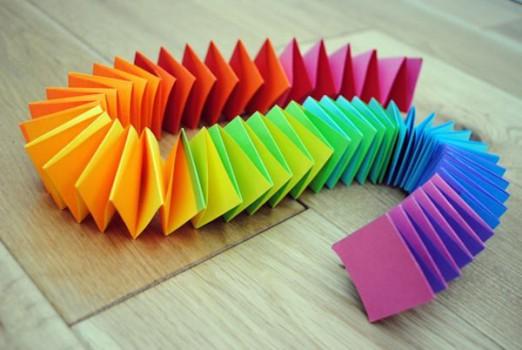 Manualidades para niños, ¡bonitos arco iris!