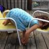 10 pruebas de que los niños duermen en cualquier sitio