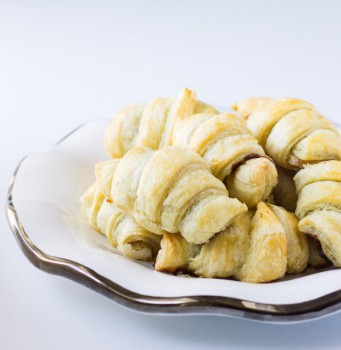 Recetas fáciles: croissants de plátano y Nutella