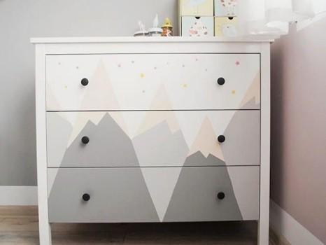 Vinilos infantiles para renovar muebles
