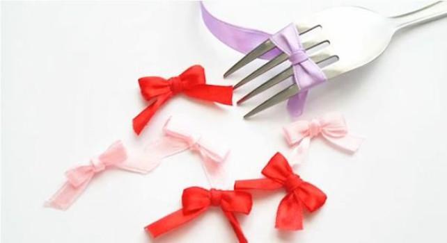 Cómo hacer un lazo perfecto con un tenedor