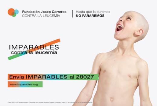 Campaña solidaria ¡imparables contra la leucemia!