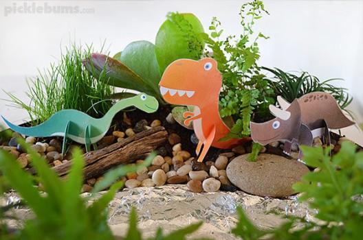 5 manualidades de dinosaurios para niños