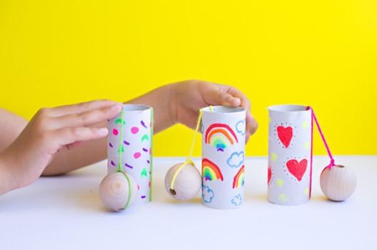 5 manualidades recicladas con rollos de papel