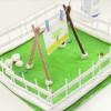 Crea tu propio jardín con pasta de modelar