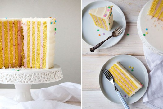 Tarta de cumpleaños original, ¡vertical!