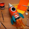 Cómo hacer un cohete con una botella