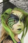 Cómo hacer un maquillaje de bruja para Halloween