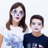 Maquillaje de Halloween: ¡un arlequín paso a paso!