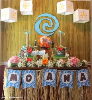 Ideas para cumpleaños infantiles ¡de Vaiana!
