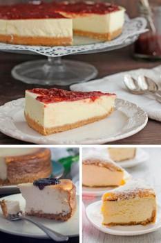 ¡La tarta de queso PERFECTA existe! 3 recetas fáciles