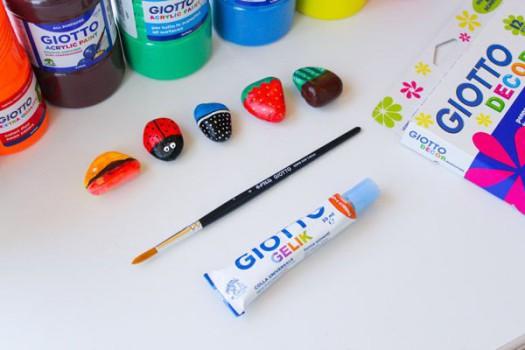 Cómo hacer imanes con piedras pintadas