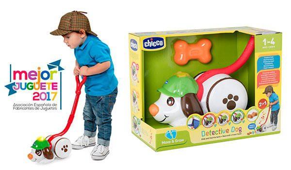 Perro Detective Arrastrable Chicco, ¡el mejor juguete del año!
