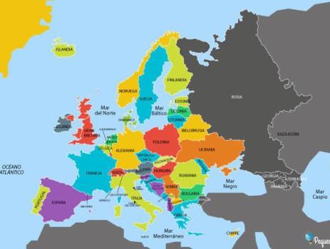 Mapa de Europa ¡descarga e imprime los mejores mapas de Europa!