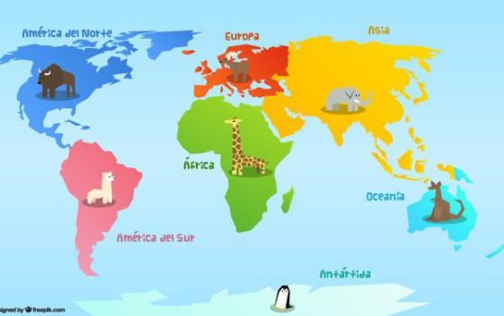 Continentes: ¿Cuáles son? Preguntas y respuestas sobre continentes