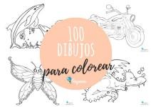 100 dibujos para colorear