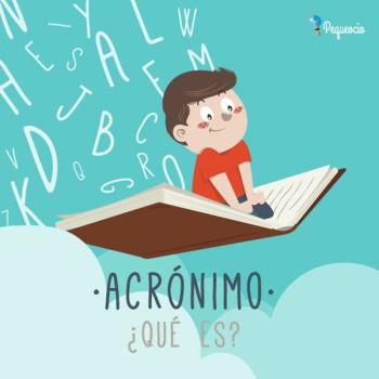 ACRÓNIMO. Qué son los acrónimos, ejemplos