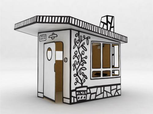 Casitas de cart n para ni os for Prestito per costruire una casa