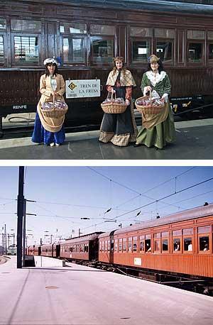 Tren de la fresa Madrid-Aranjuez