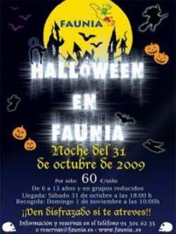 Halloween en Faunia 1