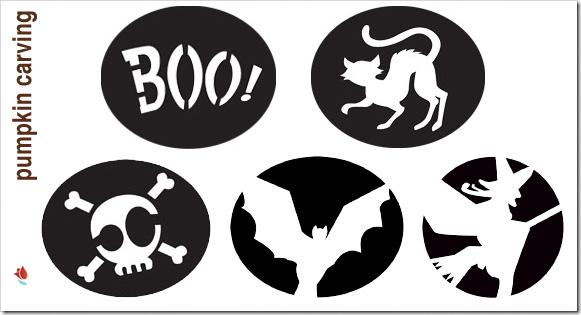 Calabazas de halloween plantillas gratis para hacerlas - Decoracion halloween para imprimir ...
