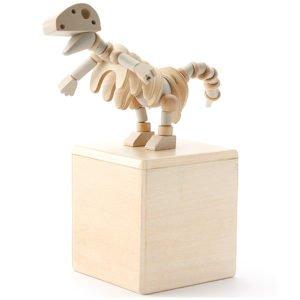 dinosaurio madera
