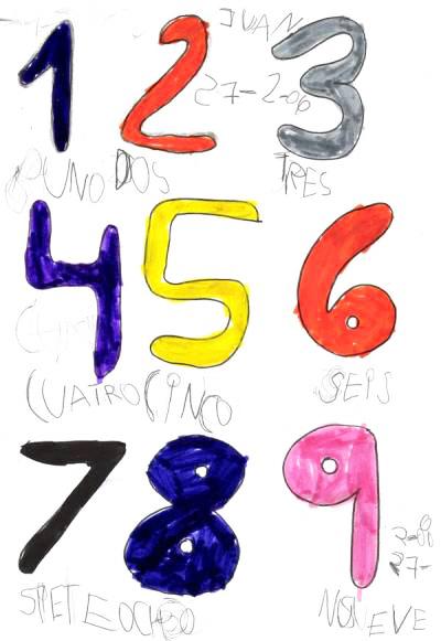 Canción de los números 3