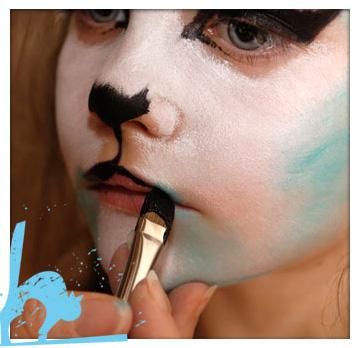 maquillaje de gatita para niña paso a paso